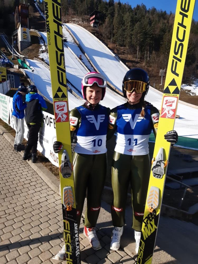 Anja Rathgeb und Laura Pletz